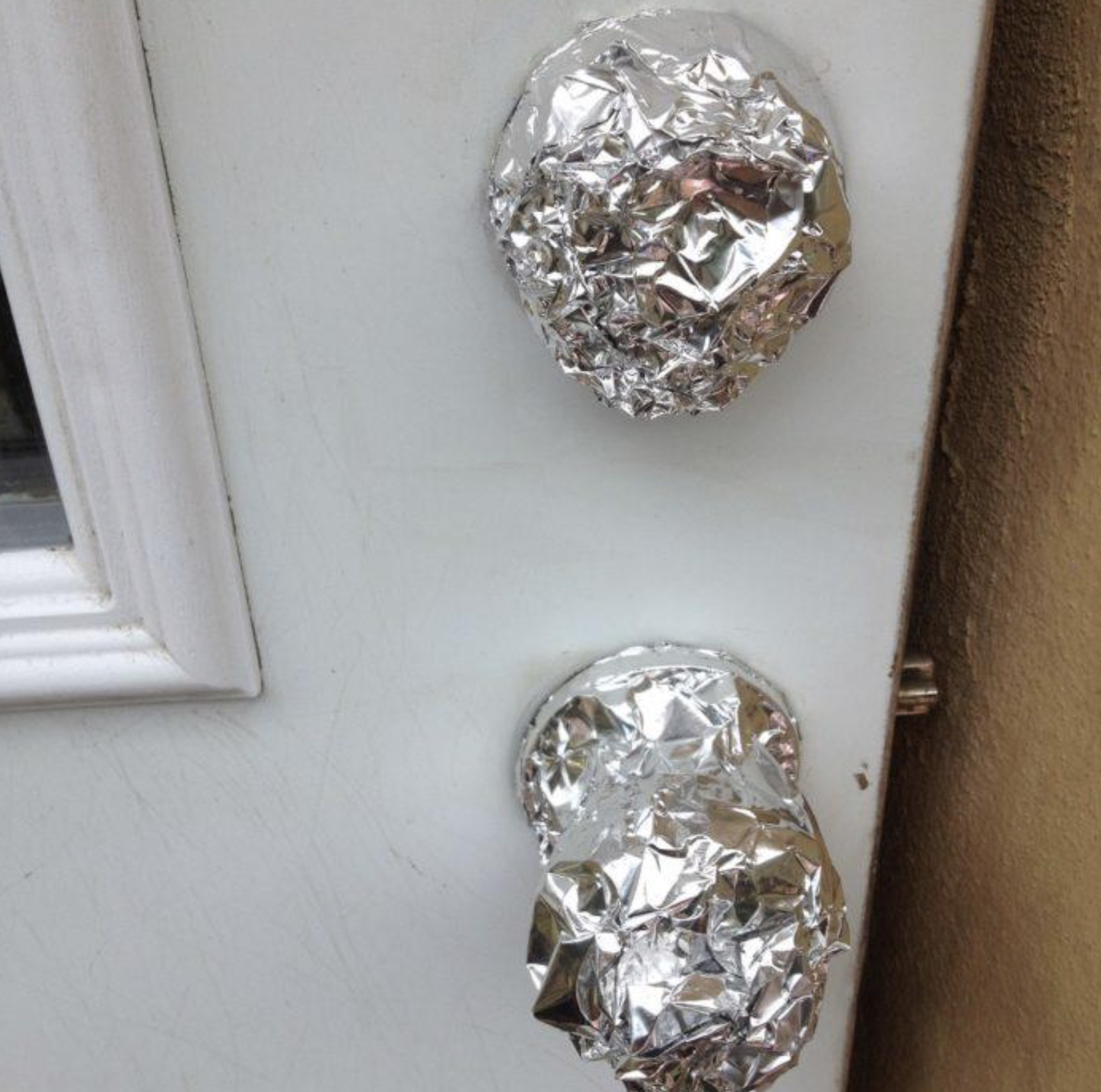 Protect Door Knobs From Fresh Paint