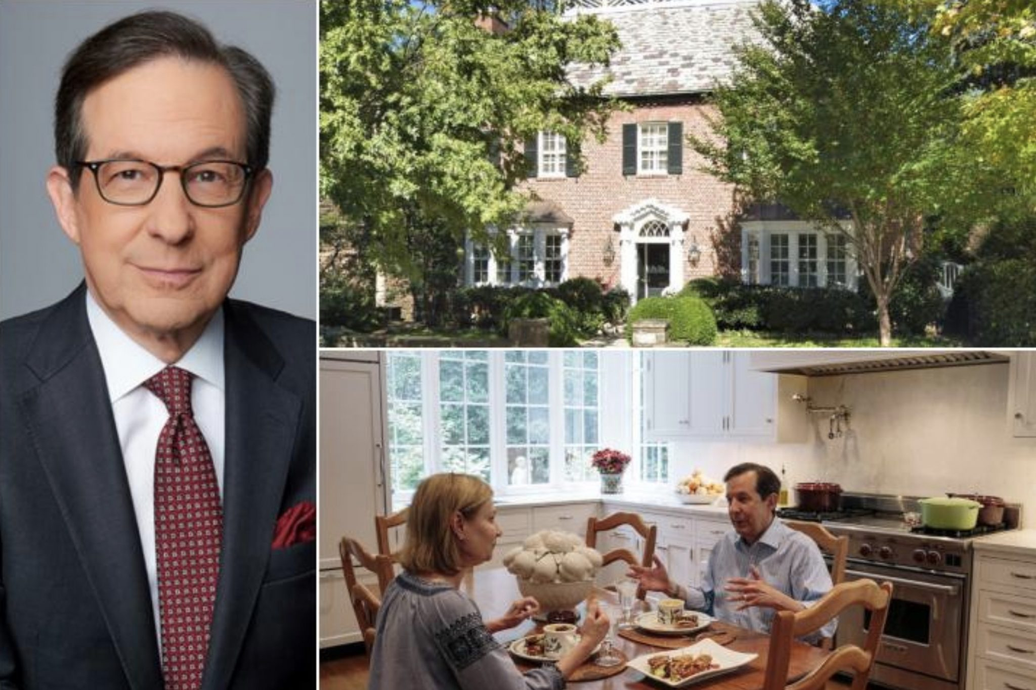 Chris Wallace's Home In Washington