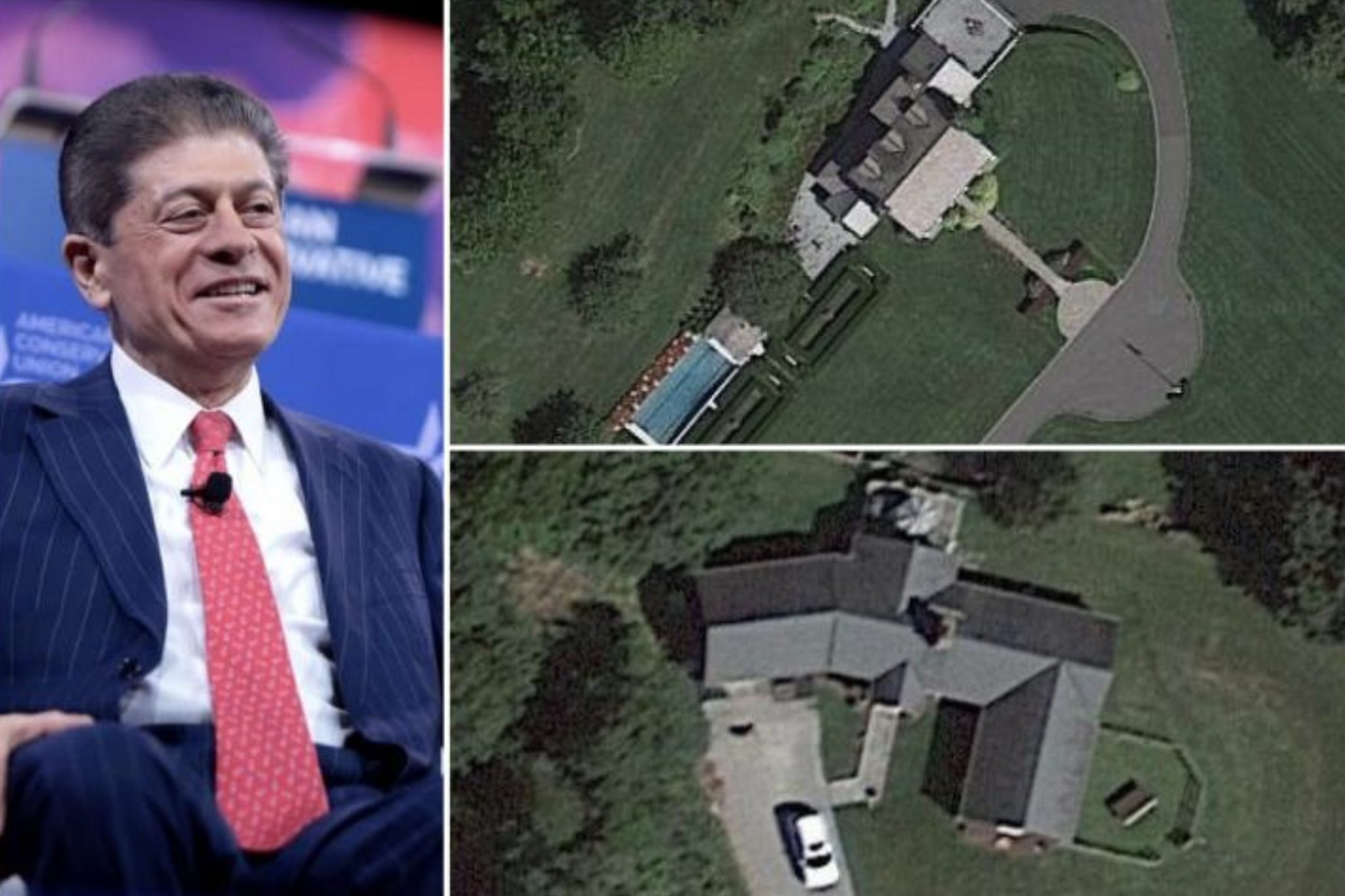 Andrew Napolitano's Home In New Jersey