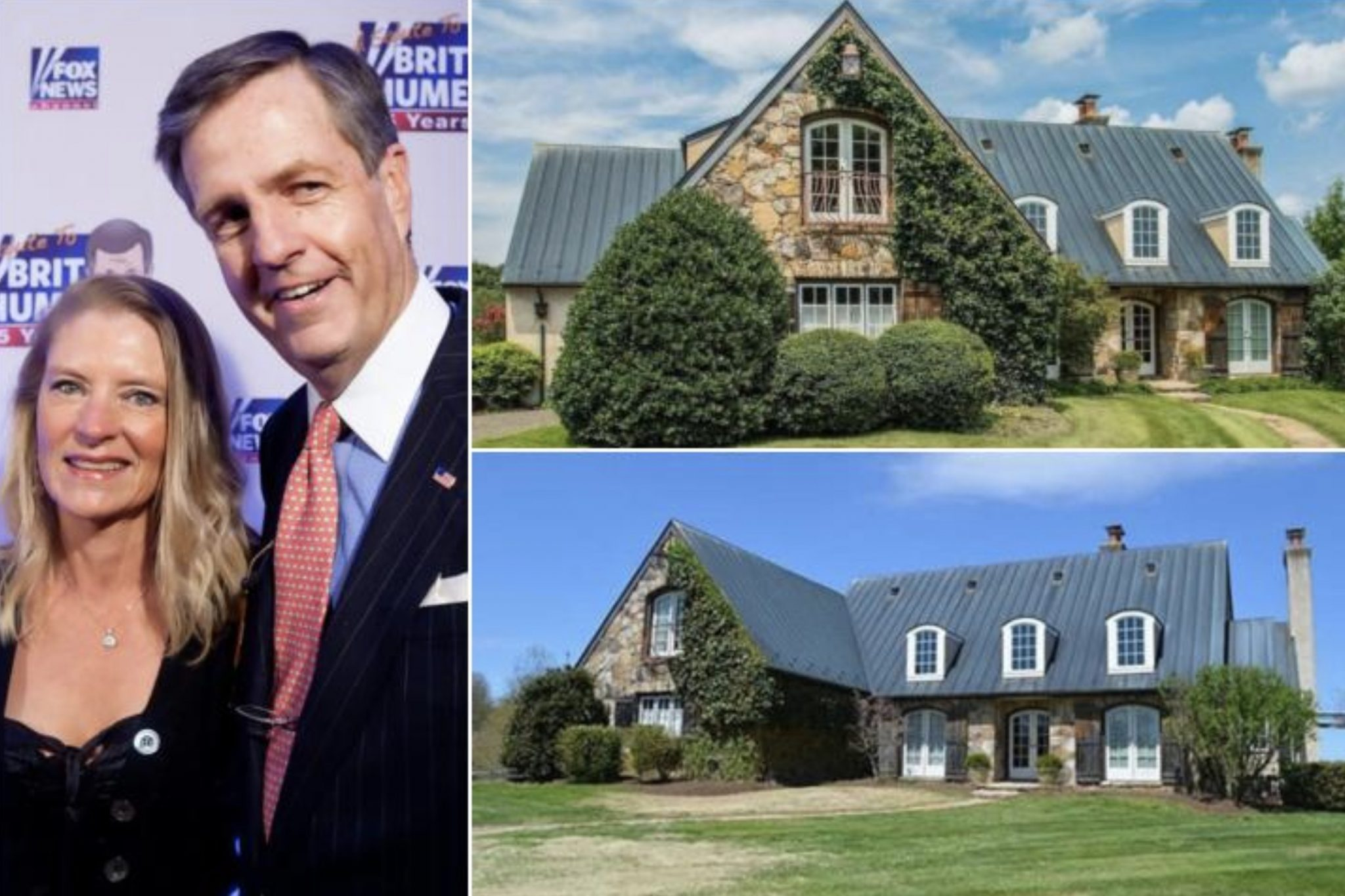 Brit Hume's 1.925 Million Home In Virginia