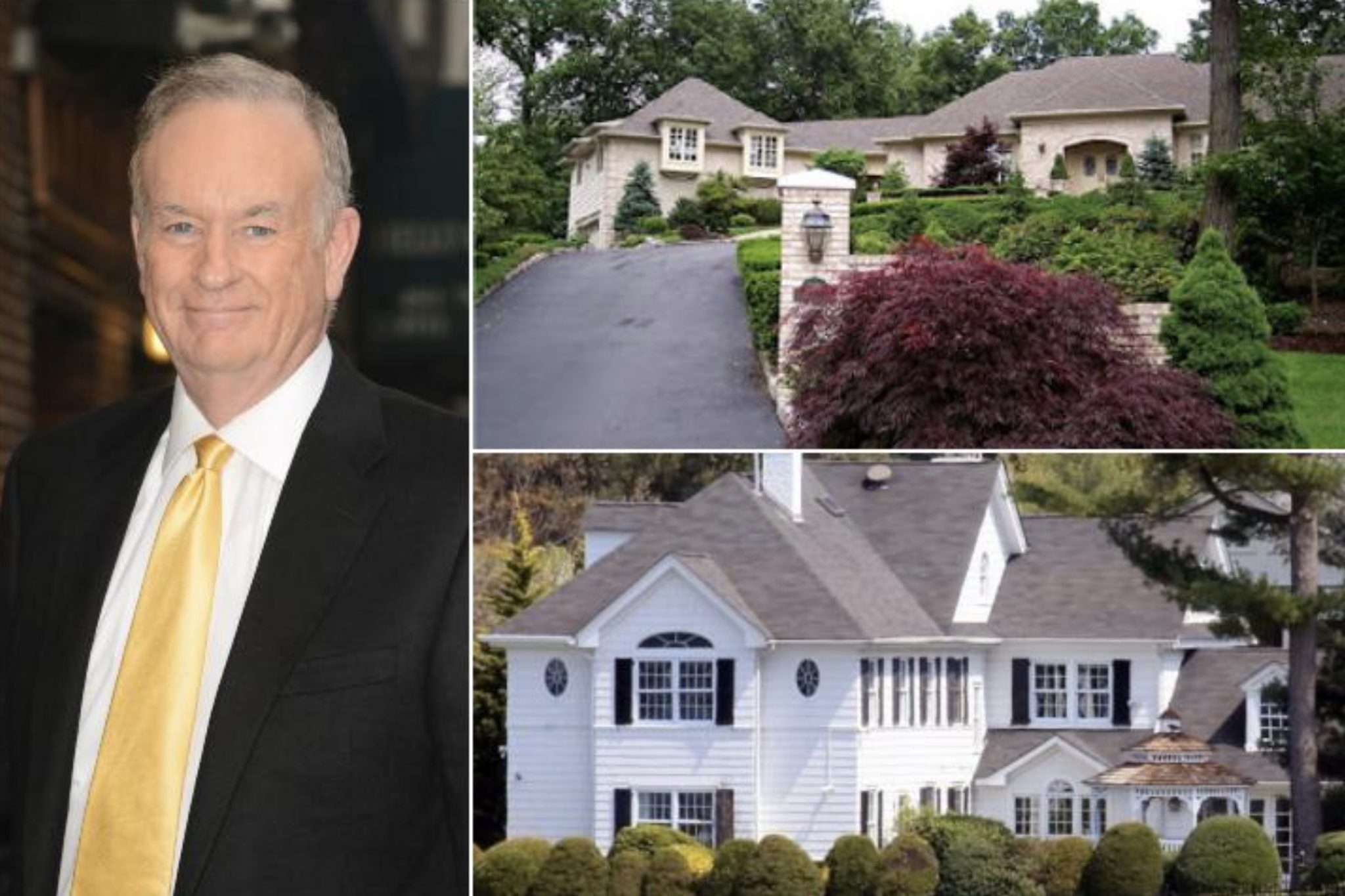 Bill O'Reilly's Home In Long Island