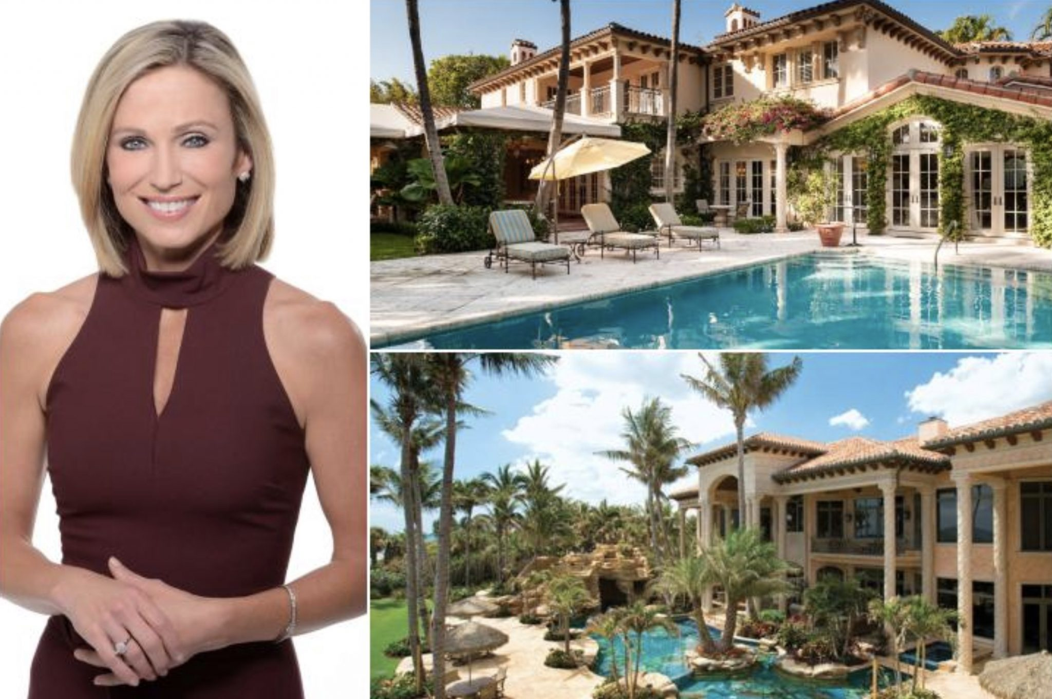 Amy Robach's 9.975 Million Home In Florida