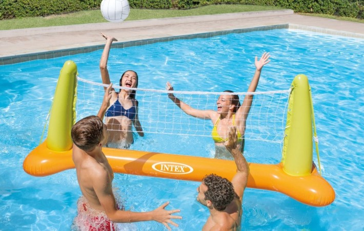 The Pool Volleyball Game