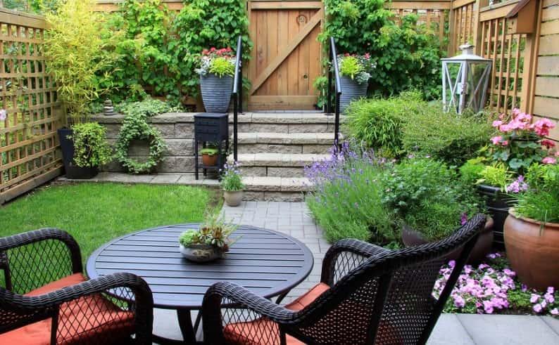 Backyard Into A Garden